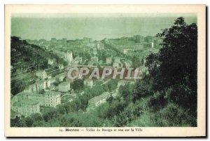 Old Postcard Valley of Menton Bonigo overlooking the City