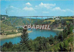 Postcard Modern Traveling Auvergne Garabit Viaduct (Cantal)