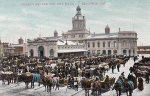 KINGSTON , Ontario , Canada , 1900-10s ; Market Square & City Hall