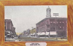 GRAND ISLAND , Nebraska, 1910 ; 3rd Avenue