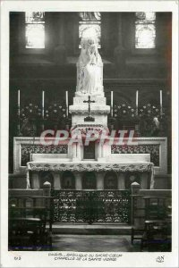 Modern Postcard Paris Basilica of Sacre Ceur Chapel of the Holy Virgin