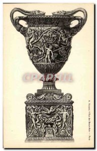 Postcard Old Vase antiquity