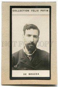274208 Pierre DE BRAZZA French explorer Vintage PHOTO