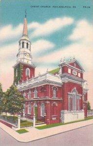 Pennsylvania Philadelphia Christ Church Albertype
