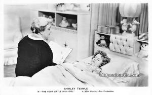 Child Movie Star Shirley Temple Post Card Old Vintage Antique The Poor Little...