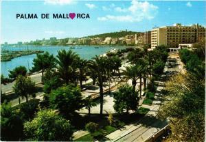 CPA Espagne-Mallorca-Palma de Mallorca-Paseo Maritimo (323455)