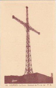 France Lourdes La Croix Sommet du Pic du Jer