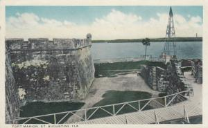 ST. AUGUSTINE, Florida, 1900-1910s;  Fort Marion, Anastasia Island and LIGHTHOUS