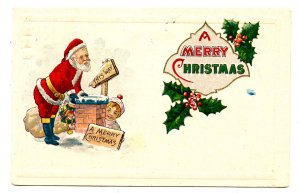 Greeting - Christmas, Santa Claus in Red Suit