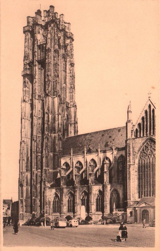 Cathedrale St-Rombaut,Malines,Belgium BIN
