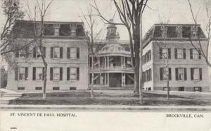 BROCKVILLE , Ontario , 1912 ; St. Vincent De Paul Hospital