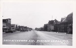 RP: PORTAGE LA PRAIRIE , Manitoba , Canada ,30-40s ; Saskatchewan Avenue