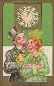 SAINT-PATRICK'S DAY ; Irish Hearts Couple ,1911