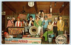 PHOENIX, AZ Arizona  CRAZY ED'S PLACE  Meridian Base BAND 1976 Roadside Postcard