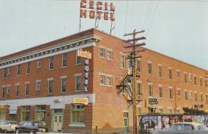 Cecil Hotel , MEDICINE HAT , Alberta , Canada , 50-60s