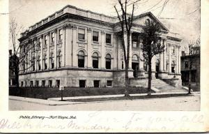 Public Library Fort Wayne Indiana 1906