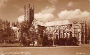 England Canterbury Cathedral, Greetings, Good Wishes! 1952