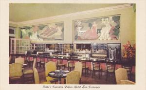 Lotta's Fountain, Palace Hotel, SAN FRANCISCO, California, 1910-1920s