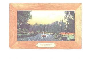 Art Series Faux Wood Frame Design, Sander, Bit of Nature