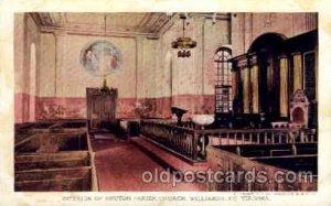 Parish Church Jamestown Exposition 1907, Near Norfolk, Virginia, USA Unused y...