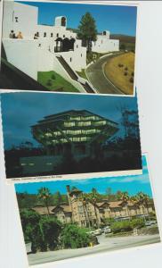 Three California Postcards Vineyards Wineries Library