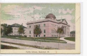 Public Library, Rockford, Illinois, PU-1908