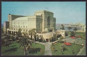 Auditorium,Long Beach,CA Postcard BIN