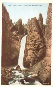 Tower Falls - Yellowstone National Park WY, Wyoming - WB