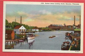 Harbor Scene, Kenosha, Wisconsin