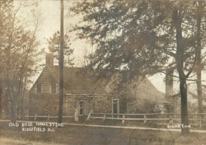 1901 Old Rose Homestead Ridgefield New Jersey NJ Posted RPPC Photo Postcard