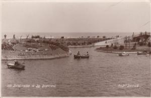 RP: Skegness, Uk, 1900 - 10s ; Boat pool