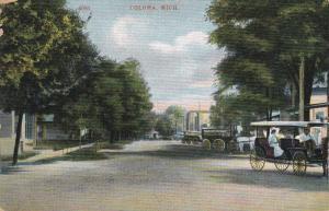COLOMA, Michigan, PU-1913; Partial Street View