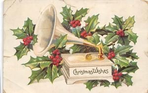 Christmas Post Card Old Vintage Antique Xmas Postcard