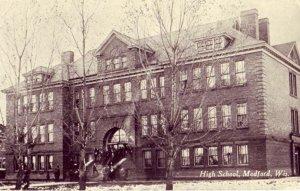 MEDFORD WISCONSIN HIGH SCHOOL 1915