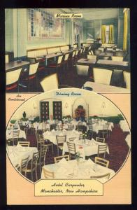 Manchester, New Hampshire/NH Postcard, Hotel Carpenter