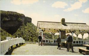Le belvedere de Perce offre au voyageur un momen de detente inoubliable,Perce...