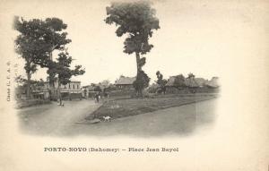 CPA Dahomey Afrique - Porto-Novo - Place Jean Bayol (86821)