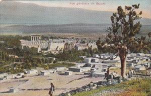 Lebanon Balbek Vue generale