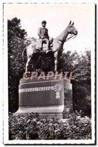 Modern Postcard Mont Cassel North Statue of Marechal Foch My uneasiness in 19...