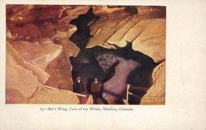 LP28 Manitou  Colorado Vintage Postcard Cave of Winds