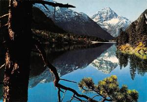 Plansee Tirol mit Thaneller Lake Reflection Mountain Landscape