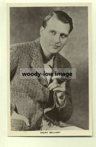 su0122 - Film Actor - Ralph Bellamy - Picturegoer postcard