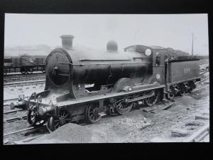 NBR No.894 & Crew Steam Locomotive - North British Railway RP Photocard 120515