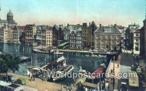 Amsterdam Netherlands, Nederland Damrak met Nieuwe Beurs  Damrak met Nieuwe B...
