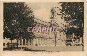 Old Postcard Cambrai Hotel de Ville