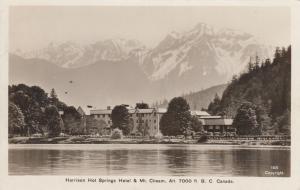 RP, Harrison Hot Springs Hotel & Mt. Cheam, B.C., Canada, PU-1937