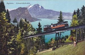 Schnurtobelbrucke, Rigibahn, Switzerland, 1900-1910s