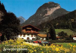Weissbach bei Lofer, Gasthof Pension Seisenbergklamm Auto Cars Voitures