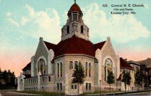 Missouri Kansas City Central Methodist Episcopal Church 11th and Paseo