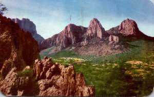 Texas Big Bend National Park Chisos Mountains 1952